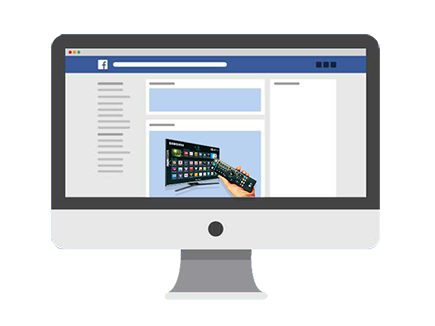 Facebook Ads para o Segmento de TV por Assinatura