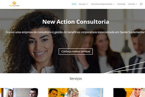 Portfólio Websites - New Action